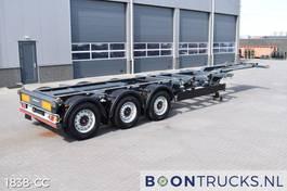Container-Fahrgestell Auflieger Kögel PORT 40 SIMPLEX 20 | 2x20-30-40ft HC * DISC BRAKES * LIFT AXLE 2017
