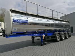 Tankauflieger Berger Santi Lebensmitteltank- 30.000 l- 3 Kammern- TOP 2013