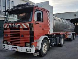 fire truck Scania 112 M