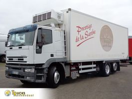 refrigerated truck Iveco EuroTech Cursor 310 + Manual EURO 2 + Thermo king RD-TLE + 6X2 2003