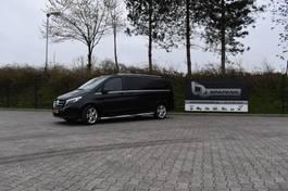 closed lcv Mercedes-Benz V Klasse 220D Extra lang DC Dubbel cabine grijskenteken 2018