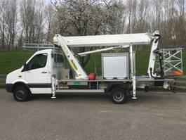 mounted boom lift truck Volkswagen Crafter 50 4x4 2015