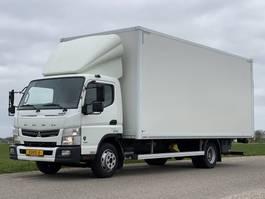 closed box truck Mitsubishi FUSO CANTER 9c18 EURO6. 9 tonner!! 2017. Aut. 2017