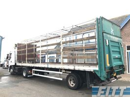 drop side semi trailer Floor 1 ass gestuurde open oplegger - klep 1998