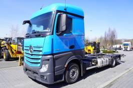 container truck Mercedes-Benz Actros 2542 , E6 , 6x2 , MEGA , chassis 7,5m , BDF , retarder , 2017