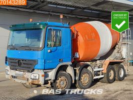 concrete mixer truck Mercedes-Benz Actros 3241 8X4 Big-Axle Steelsuspension 3-Pedals Euro 3 2004