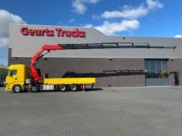 crane truck Scania R490 8X4 + FASSI F820RA.2.28 XHE-DYNAMIC KRAAN/KRAN/CRANE/GRUA 2016