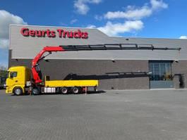 crane truck Scania R 8X4 + FASSI F820RA.2.28 XHE-DYNAMIC KRAAN/KRAN/CRANE/GRUA 2016