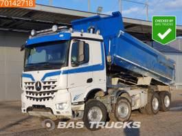 tipper truck > 7.5 t Mercedes-Benz Arocs 4151 8X4 Retarder Big-Axle Steelsuspension ClassicSpace 2014