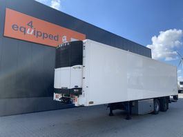 refrigerated semi trailer Pacton 2-axle city-reefer, Carrier Vector 1800 D/E, taillift 2.000kg, NL-trailer 2006