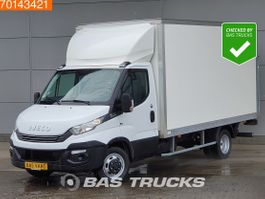 closed lcv Iveco Daily 35 C16 160PK Automaat Laadklep Bakwagen Airco Cruise A/C Cruise control 2018