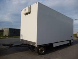 closed box trailer ESVE AHW 6-6-R127 Dieplader Aanhangwagen Gesloten - Vrachtwagen Aanhangwagen ... 1990