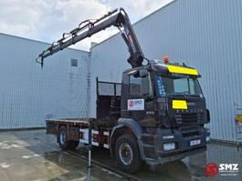 platform truck Iveco Stralis 270 hiab 144 F Remote 2003