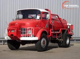 fire truck Mercedes-Benz 911 4x4 -Feuerwehr, Fire brigade -3.000 ltr watertank - 3,5t. Lier, Wich... 1977