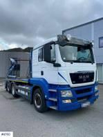 container truck MAN TGS 26.480 Lifter dumper 2012