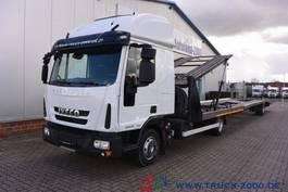 car transporter truck Iveco EuroCargo 100E22 für PKW-Transporter-Wohnmobile 2014
