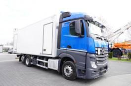 refrigerated truck Mercedes-Benz Actros 2545 , E6 , 6X2 , BI-TEMPERATURE , 19 EPAL , 2x side door 2017