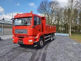 tipper truck > 7.5 t MAN TGA 33 Double usage tracteur routier +camion benne(hardox)