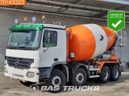 camion betoniera Mercedes-Benz Actros 3241 8X4 Big-Axle Steelsuspension 3-Pedals Euro 3 2004