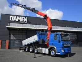 tipper truck > 7.5 t DAF CF 510 FAT/Q 8x4 ( Tridem ) Euro 6 2015
