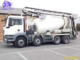 concrete mixer truck MAN TGX 32.440 Euro 5 2014