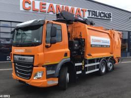 garbage truck DAF CF 340 FAN Hiab 23 ton/meter laadkraan 2021