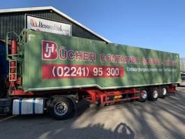 tipper semi trailer Kempf SKM 39 85m3 ALU Kipper 2x Liftachse Alcoa, top zustand 2012