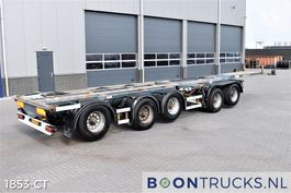 Container-Fahrgestell Auflieger D-Tec CT-60-05D COMBITRAILER | 2x20-30-40-45ft HC * 4 x LIFT * 3 x STEERING * APK 10-2021 2006