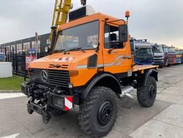tipper truck > 7.5 t Unimog U 1600 4X4 + TIPPER 1994