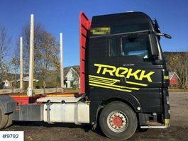 timber truck MAN TGX 33 680 timber truck without crane