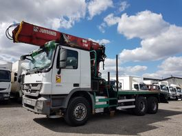 timber truck Mercedes-Benz Actros 3351 ACTROS 3351 KN 6x4 V8 + JONSERED 2490.78 2009