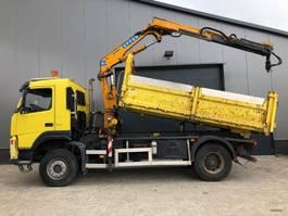 tipper truck > 7.5 t Volvo FM 9 FM9 , 4x4 , Kipper + Kraan EFFER E120 , 2005