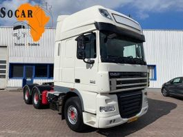 cab over engine DAF XF 105 510 6x4 Retarder 2011