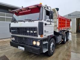 tipper truck > 7.5 t DAF 2800 6x4 ITALIAN TIPPER - top quality 119.000km 1989