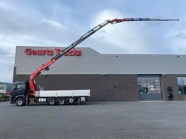 crane truck Mercedes-Benz Arocs 3646 8X4 TRIDEM + FASSI F545RA.2.26 XE-DYNAMIC + JIB L426 KRAAN/KRAN/CRANE/GRUA 2019