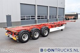 container chassis semi trailer Krone SD | 2x20-30-40-45ft HC * EXTENDABLE REAR 2012