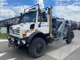drop side truck Unimog U5000  2004