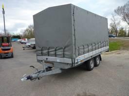 tilt car trailer Hapert AL....plateauwagen met huif 2009