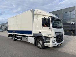 closed box truck DAF CF 370. Euro 6 !!! 4-2014 bj alu koffer+lift 2014