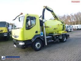 vacuum truck Renault Midlum 180 .14 dxi 4x2 RHD Euro 5 vacuum tank 6.1 m3 2012