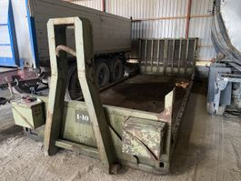 flat rack shipping container Maskinlad/hejs-ramme 2000