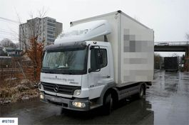 closed box truck Mercedes-Benz Atego 818 4x2 Box truck with short wheelbase. 5.99 2005