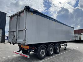 tipper semi trailer Kempf 57m3 Agrar 2016