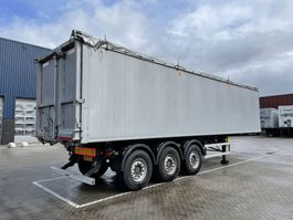 tipper semi trailer Kempf SKM AK 57m3 Agrar / Bieten / Rüben 2016