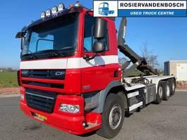 container truck DAF CF 85 FAK 8X2 HAAKARM EURO 5 MANUAL 2012