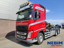 container truck Volvo FH 460 Euro 6 - HOOKLIFT MULTILIFT XR21S 2017