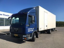 closed box truck MAN TGL 12.180 TGL 12.180