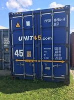hard top shipping container Overige