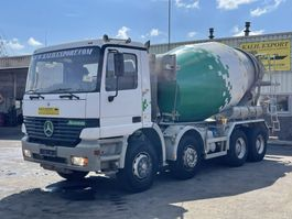 concrete mixer truck Mercedes-Benz 3240 Actros Liebherr Mixer 8x4 Full Steel Good Condition 1998