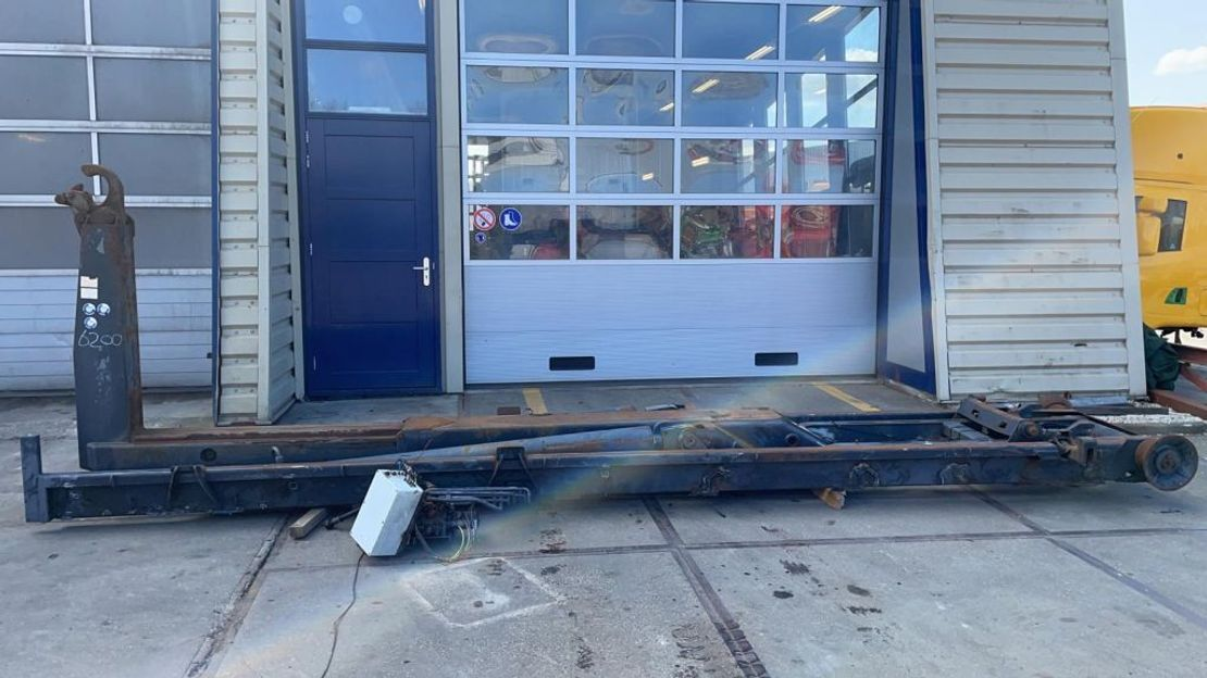 Container system truck part VDL VDL 21 tons haaksysteem 2003